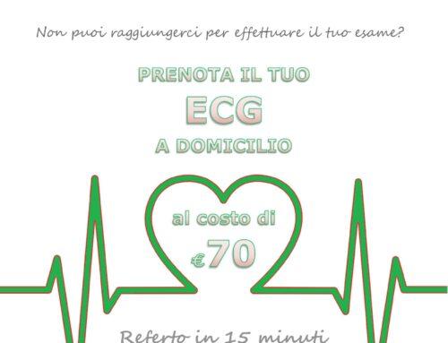 Prenota ECG a Domicilio